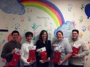 Sonrise Church on Wooster Pike donated gift bags for each of the 60 staff members at Clermont County Childrens Protective Services.  The church wanted to bless the staff with a gift for all the hard work they do!