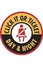 The 2013 National Click It or Ticket Campaign is May 20 - June 2