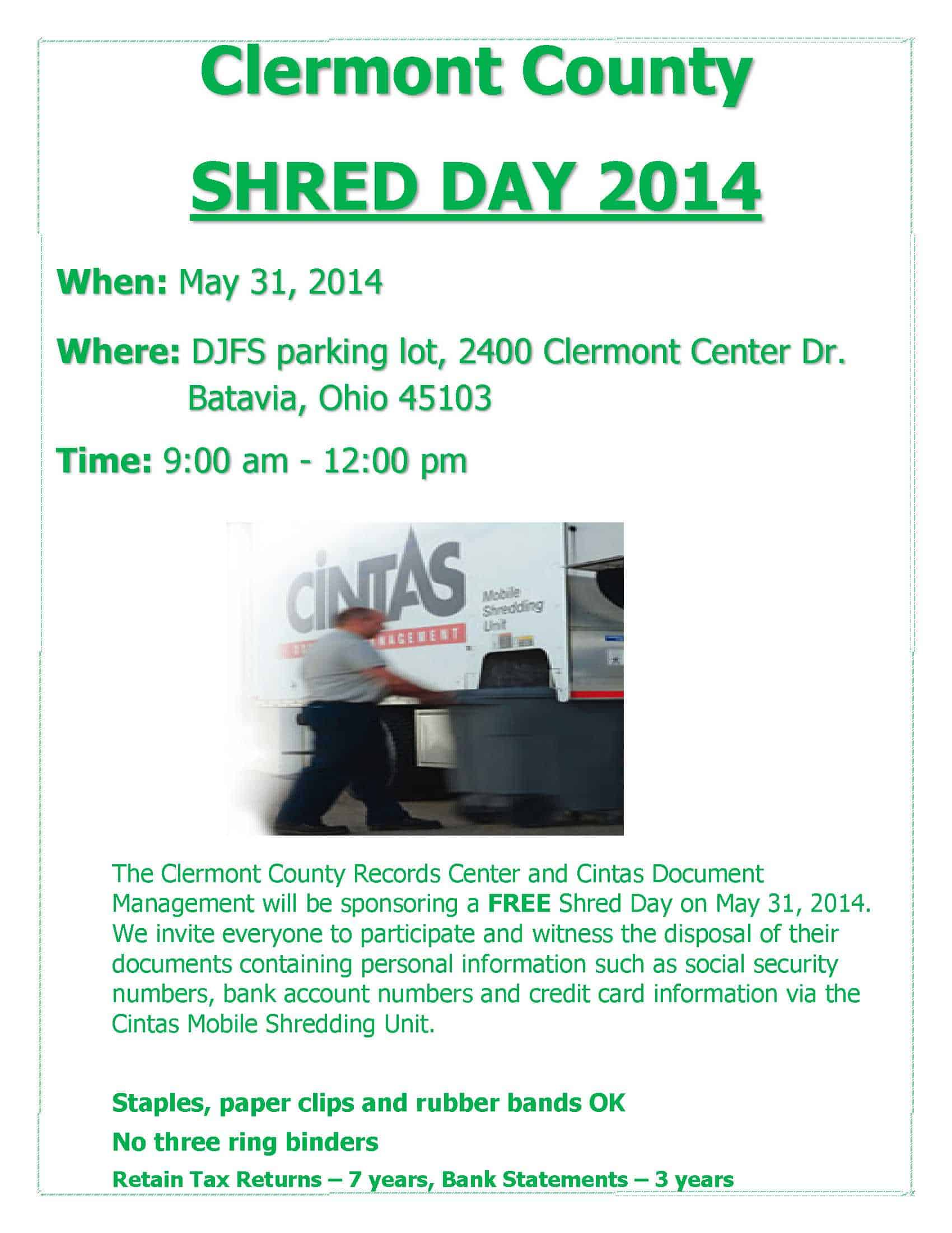 shred day 2014
