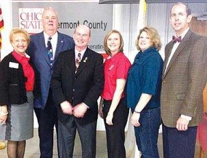 Margaret Jenkins, Commissioner Humphrey, Commissioner Proud, Kelly Royalty, Gigi Neal, and Commissioner Uible