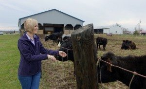 Sydney Snider grew up with cattle on her family farm.